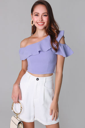 Lindsey Toga Top in Lilac