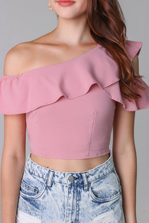 Lindsey Toga Top in Pink