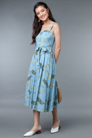 Tropical Printed Sundress