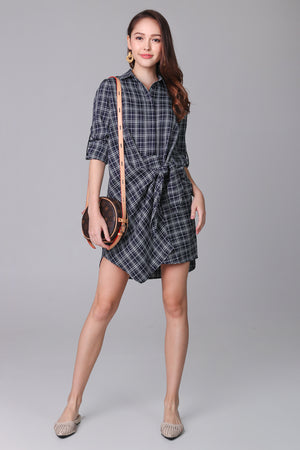 Shelford Shirt Dress in Black