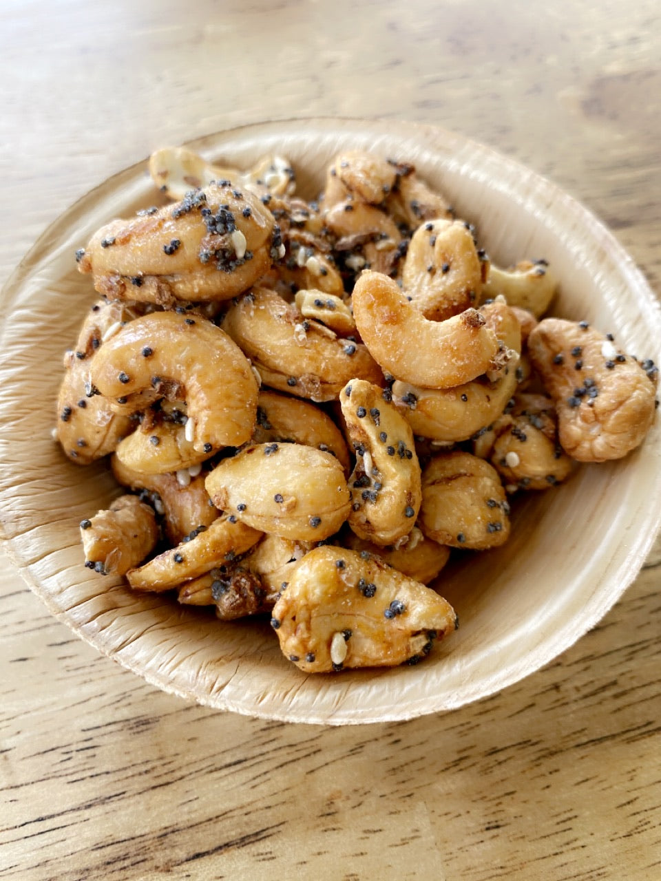 Everything Seasoned Cashews