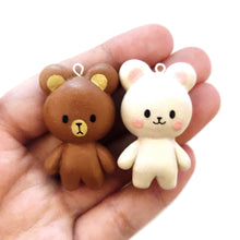 Load image into Gallery viewer, Milk & Mocha Bear Charm
