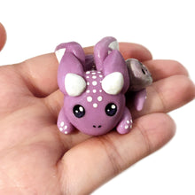Load image into Gallery viewer, Purple Skull Dragon Figurine