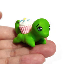 Load image into Gallery viewer, Dino Cupcake Figurine
