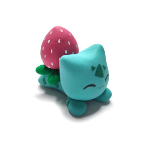 Strawberry Bulbasaur Figurine