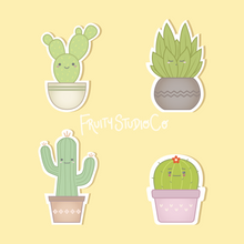 Load image into Gallery viewer, Kawaii Plant Sticker