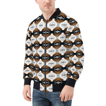 Load image into Gallery viewer, Cofitichequi White Men's Bomber Jacket