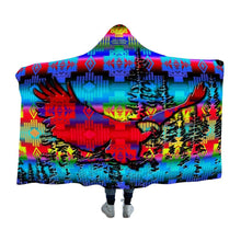 Load image into Gallery viewer, Bird Dance Summer Meadows Cloak Hooded Blanket 49 Dzine