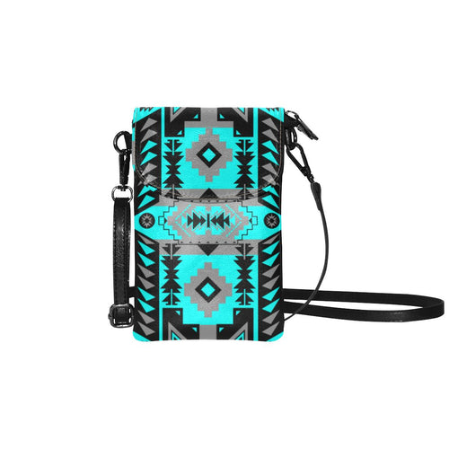 Chiefs Mountain Sky Small Cell Phone Purse (Model 1711) Small Cell Phone Purse (1711) e-joyer