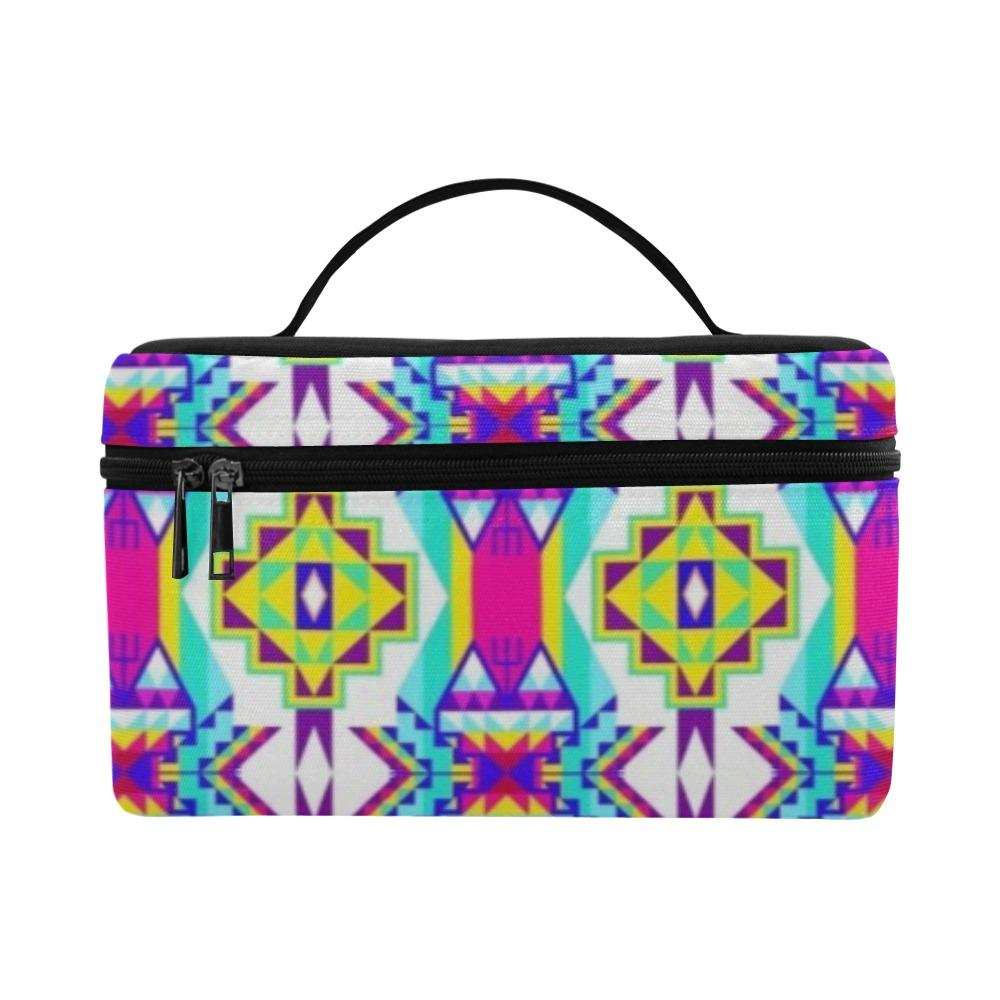 Fancy Champion Cosmetic Bag/Large (Model 1658) Cosmetic Bag e-joyer