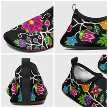 Load image into Gallery viewer, Floral Beadwork - 01 Sockamoccs Slip On Shoes 49 Dzine