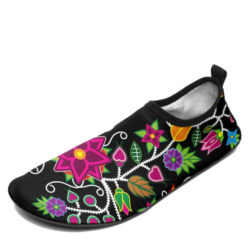 Floral Beadwork - 01 Sockamoccs Slip On Shoes 49 Dzine