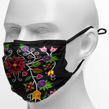 Load image into Gallery viewer, Floral Beadwork Face Cover Herman