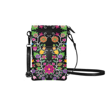 Load image into Gallery viewer, Floral Beadwork Small Cell Phone Purse (Model 1711) Small Cell Phone Purse (1711) e-joyer