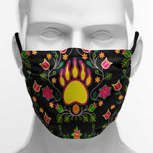 Load image into Gallery viewer, Floral Bearpaw Face Cover Herman