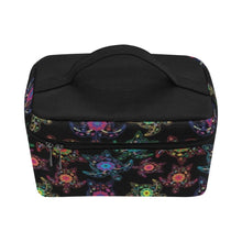Load image into Gallery viewer, Floral Turtle Cosmetic Bag/Large (Model 1658) Cosmetic Bag e-joyer