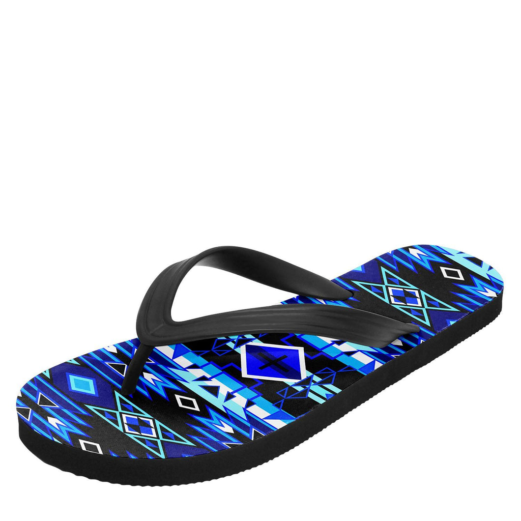 Force of Nature Winter Night Flip Flops 49 Dzine