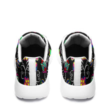 Load image into Gallery viewer, Indigenous Paisley Black Ikkaayi Sport Sneakers 49 Dzine