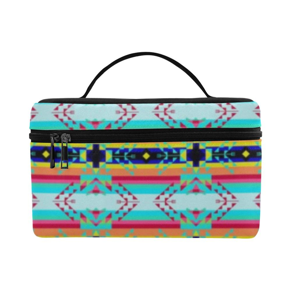 Sacred Spring Cosmetic Bag/Large (Model 1658) Cosmetic Bag e-joyer
