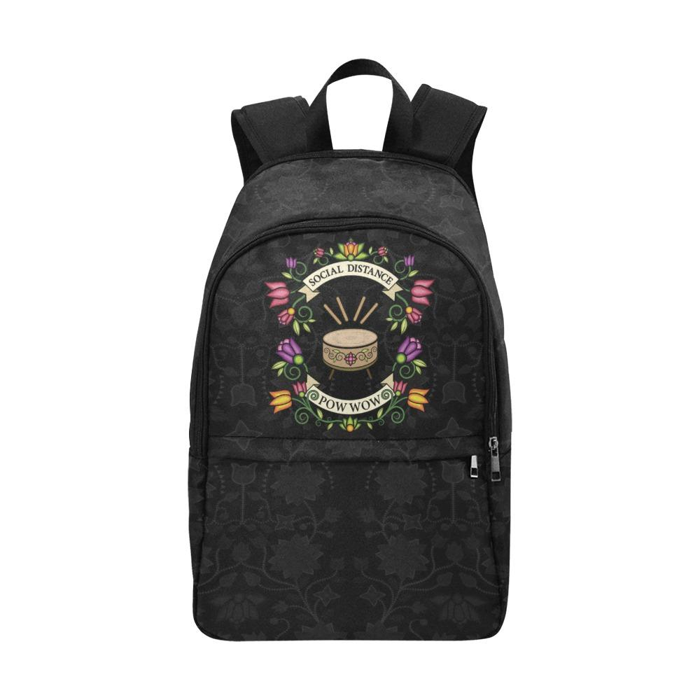 Social Distance Powwow - Floral Fabric Backpack for Adult Casual Backpack for Adult (1659) e-joyer
