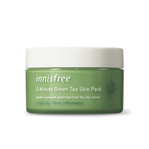Innisfree 3-Minute Green Tea Skin Pack 70ml
