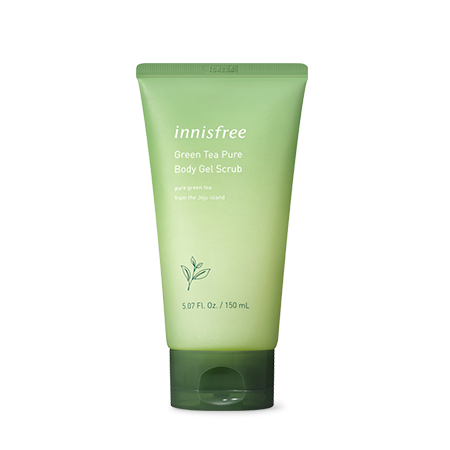 Innisfree Green Tea Pure Body Gel Scrub 150ml