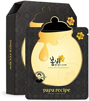 Papa Recipe Bombee Black Honey Mask Pack 25g*10ea