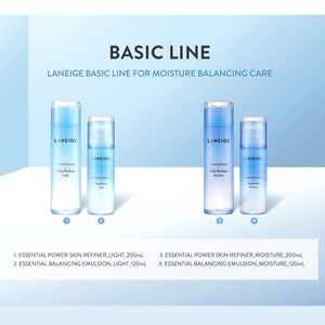 Laneige Essential Balancing Skin Refiner 200ml (Light)