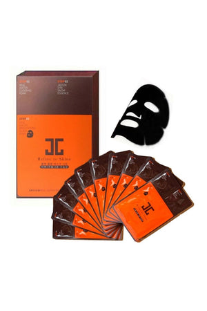 JayJun Real Water Brightening Black Mask 25ml*10ea