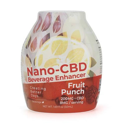 Nano-CBD Beverage Enhancer Fruit Punch 200MG