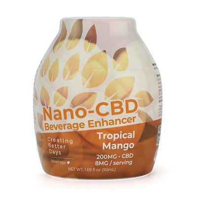 Nano-CBD Beverage Enhancer Tropical Mango 200MG