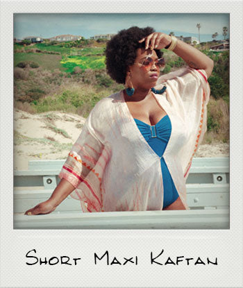 A Lotta Curves - Short Maxi Kaftan