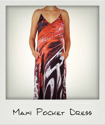 Maxi Pocket Dress