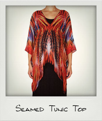 Seamed Tunic Top