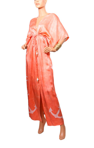 Cape Cod Regular Robe - Peach