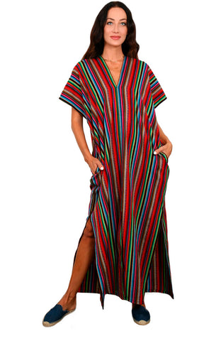 Radiant Weave - Mykonos Pocket Kaftan
