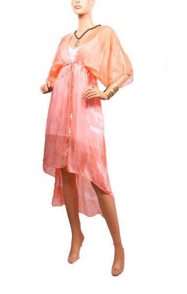 Cape Cod Cascade Robe - Peach