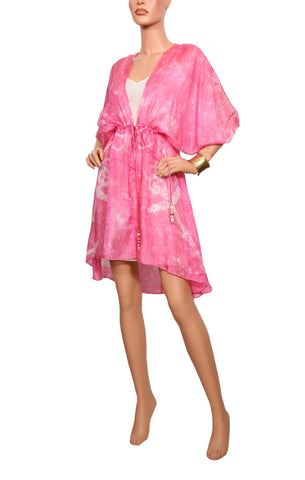 Cape Cod Mini Cascade Robe - Pink