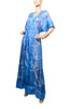Cape Cod Wrap Robe - Strong Blue