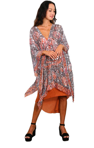 Cartwheel Batik - Regular Poncho