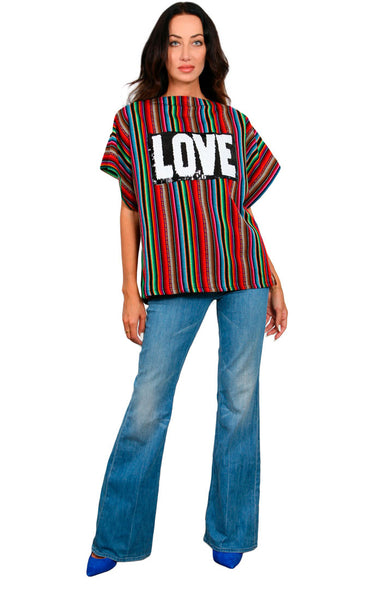 Radiant Weave - LOVE Tunic