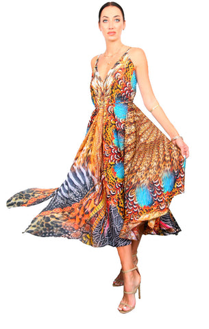 Wild Rotunda - Flowy Dress