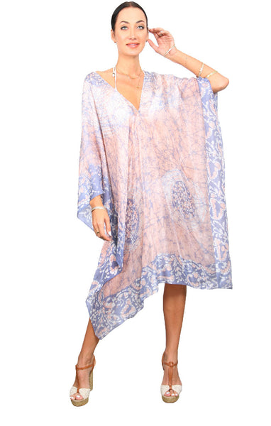 Batik Regular Poncho - Rock & Sand