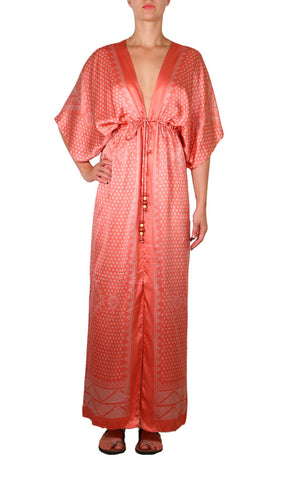 Kharum Regular Robe - Red