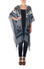 Tahoe Open Front Poncho - Blue Boot