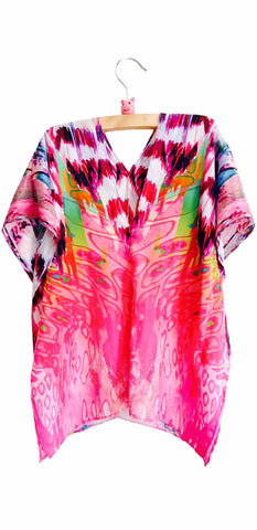 FEATHER BAZAAR - SHORT KAFTAN