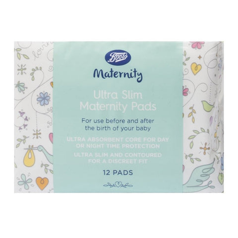 Boots Ultra Slim Maternity Pads - 1 x 12 Pack