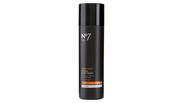No7 Mens Energising Hair & Body Wash 200ml