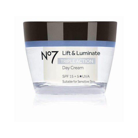 No7 Lift & Luminate TRIPLE ACTION Day Cream SPF15 50ml