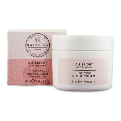 Botanics All Bright Hydrating Night Cream 50ml